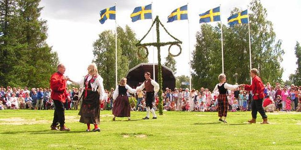 Välkomna till Svenskt Midsommarfirande på Mont Royal!