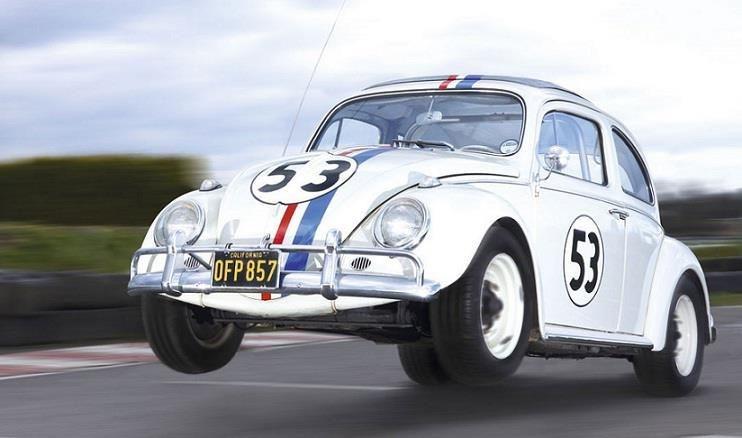 O Fusquinha Herbie (Se meu Fusca Falasse)