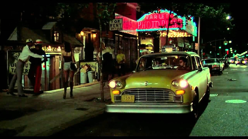 Taxi Chevy Bel Air 1957 (Taxi Driver)