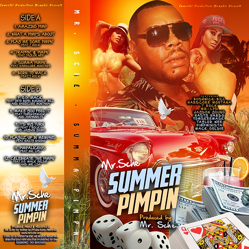 Mr. Sche - Summa Pimpn' - Cassette Tape