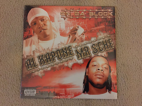"Al Kapone/Mr.Sche - LP  "" ON DA BLOCK """