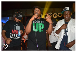 Sche with Zirk & Al Kapone on Stage)