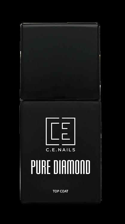 Растворимый топ-гель C.E.Nails Pure Diamond, 15 мл