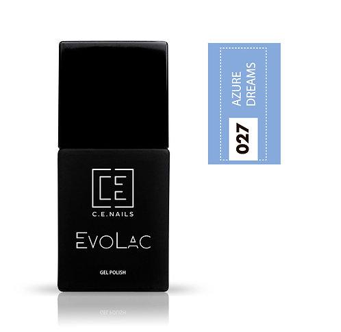 #027 Azure Dreams, Гель-лак для ногтей EvoLac
