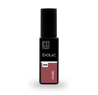 #008 Anabel, Гель-лак для ногтей EvoLac, 8 мл