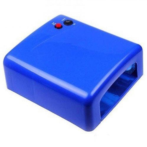УФ-лампа для ногтей Bluesky-818 36W, синяя
