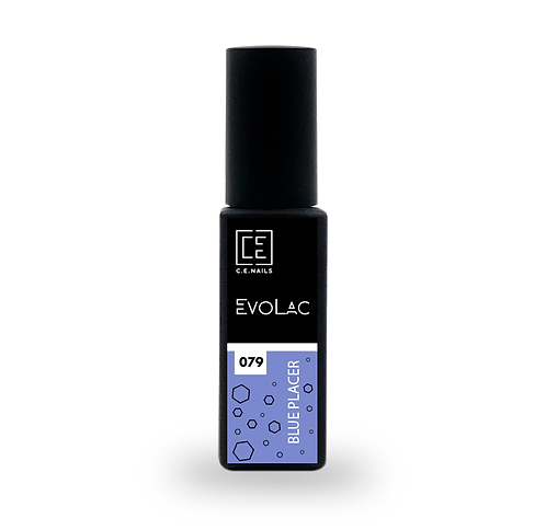 #079 Blue Placer, Гель-лак для ногтей EvoLac, 8 мл