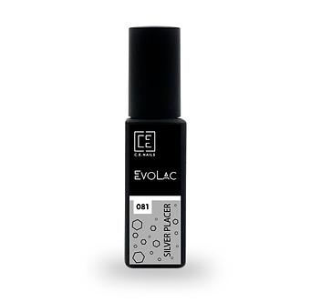#081 Silver Placer, Гель-лак для ногтей EvoLac, 8 мл