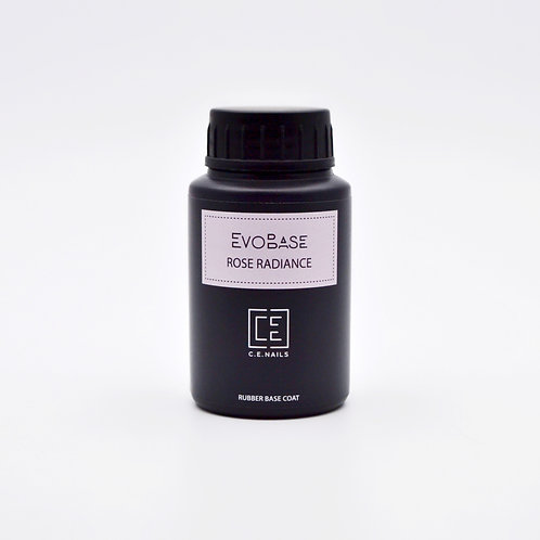 Розовое с шиммером базовое покрытие EvoBase Pink Rose Radiance, 30 мл
