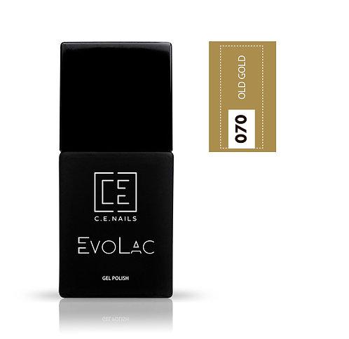 #070 Old Gold, Гель-лак для ногтей EvoLac.
