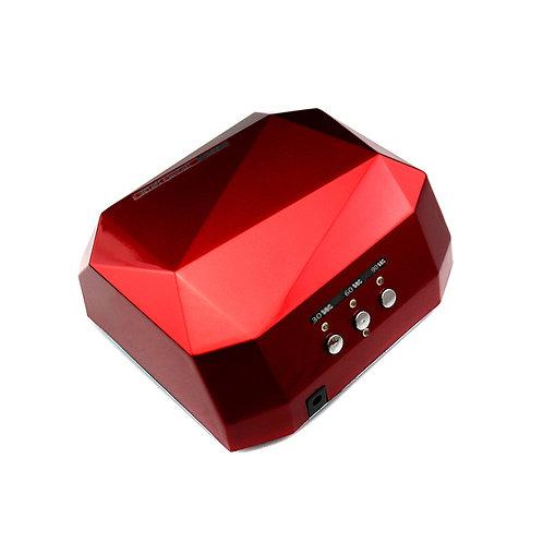 """Супер LED/CCFL лампа """"ПРИЗМА"""", 36 WT красная"""