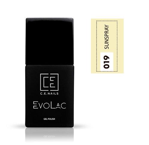 #019 Sunspray, Гель-лак для ногтей EvoLac