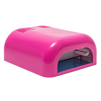 УФ-лампа для полимеризации 36W, розовая