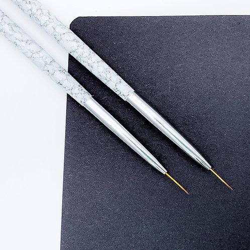 Кисть для тонких линий, 11 мм, мрамор