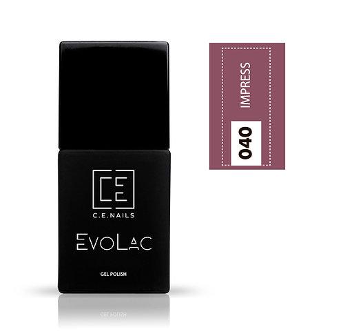 #040 Impress, Гель-лак для ногтей EvoLac