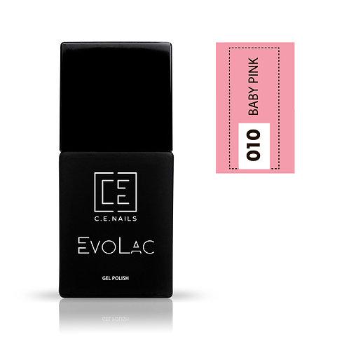 #010 Baby Pink, Гель-лак для ногтей EvoLac