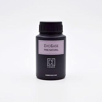 Камуфлирующая каучуковая база C.E.Nails EvoBase Pink Natural, 30 мл