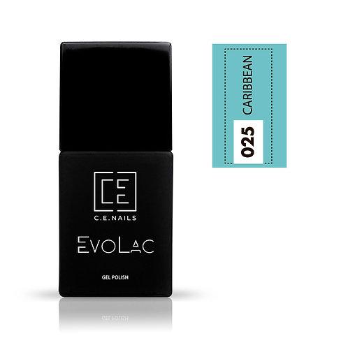#025 Caribbean, Гель-лак для ногтей EvoLac