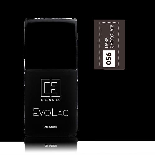 #056 Dark Chocolate, Гель-лак для ногтей EvoLac