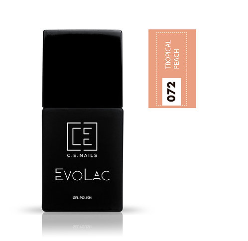 #072 Tropical Peach, Гель-лак для ногтей EvoLac.