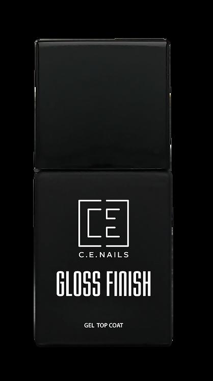 Топ-гель без липкого слоя C.E.Nails Gloss Finish