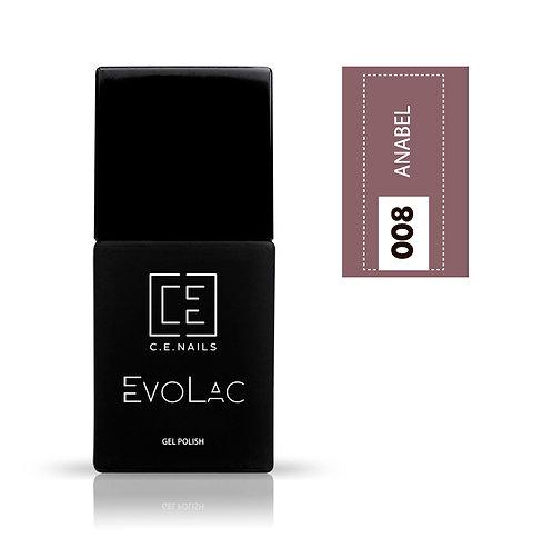 #008 Anabel, Гель-лак для ногтей EvoLac