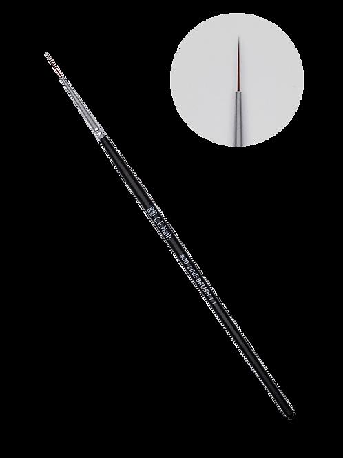 Кисть для тонких линий C.E.Nails #00 Line Brush 1.1