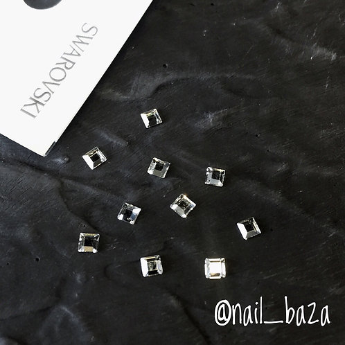 Квадратные кристаллы Swarovski