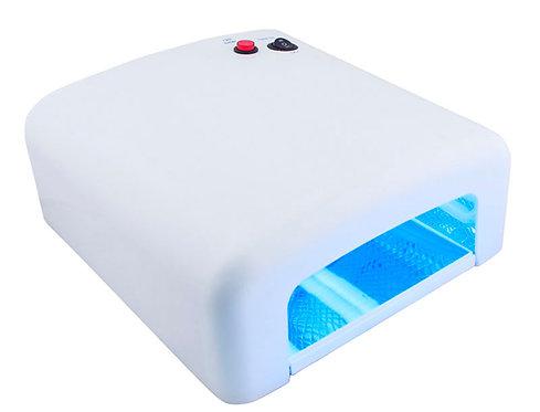 УФ-лампа для ногтей Bluesky-818 36W, белая
