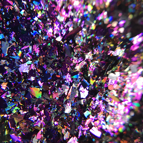 Втирка с крупными хлопьями, фиолетовый отлив
