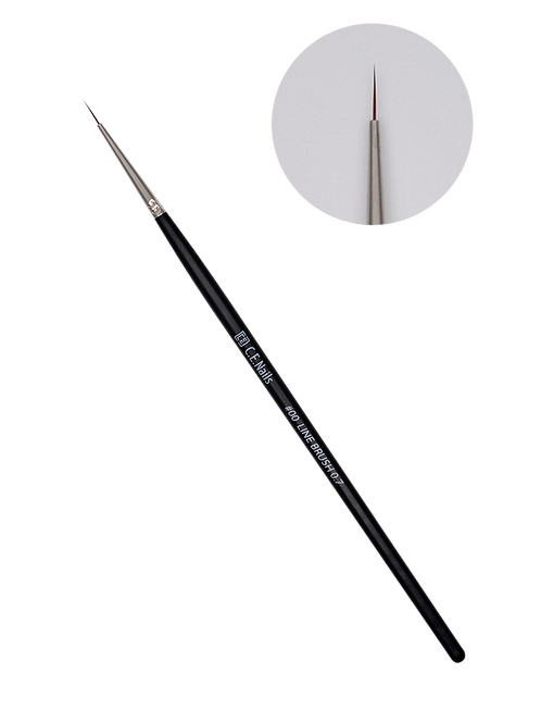 Кисть для тонких линий C.E.Nails #00 Line Brush 0.7