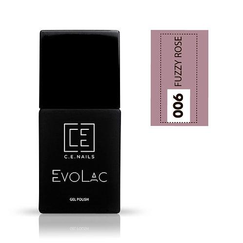 #006 Fuzzy Rose, Гель-лак для ногтей EvoLac