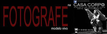 Fotografar modelo vivo - Escola de modelo vivo - CASA CORPO2
