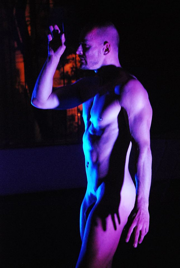 Modelo vivo - Juliano Hollivier - Escola de modelo vivo