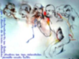 Desenho de modelo vivo - Escola de modelo vivo - CASA CORPO2