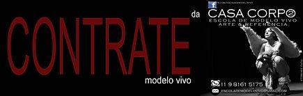 Contratar um modelo vivo - Escola de modelo vivo - CASA CORPO2