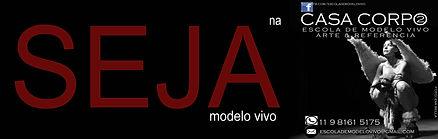 Ser um modelo vivo - Escola de modelo vivo - CASA CORPO2
