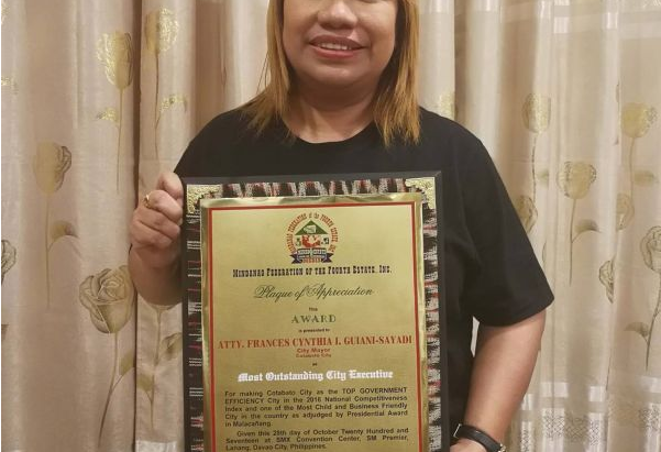 City Mayor gets recognition from media org