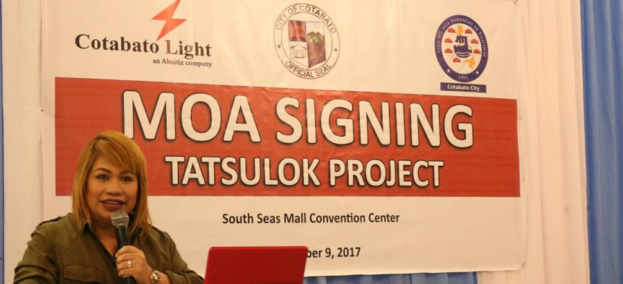 City LGU, Colight, Barangays form TATSULOK Program