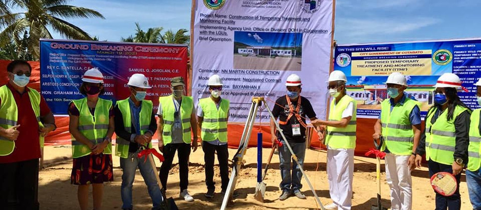 Temporary Treatment and Monitoring Facility soon to rise in Cotabato City