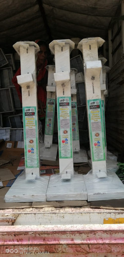 Manual Paddle Operated Hand Sanitizing