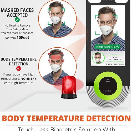 Thermal Detection Biometrics