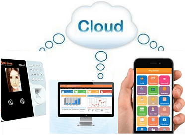 cloud enabled biometric attendance system