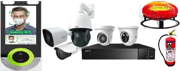CCTV,Biometrics,Fire Safety,EPBAX ,Networking
