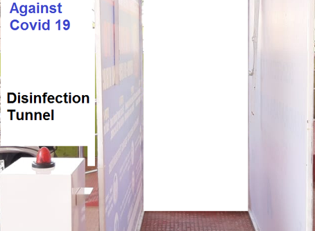 DISINFECTANT TUNNEL OR AUTOMATIC DISINFECTANT MACHINE OR AUTOMATIC DISINFECTANT TUNNEL