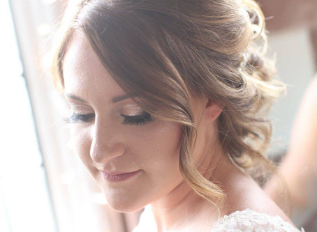 Glam vs. Natural Wedding Makeup