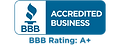 BBB Accredited Business Logo, A+ Rating