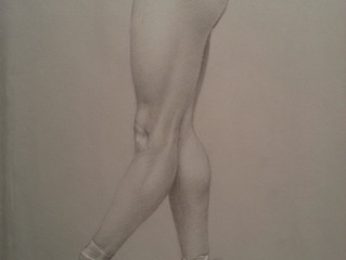 Another silverpoint... with a twist.