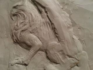A little more sculpture...