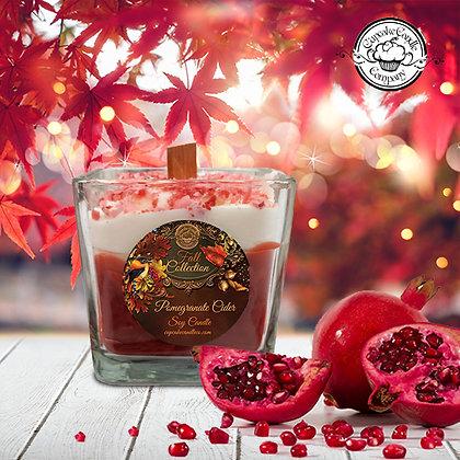 Pomegranate Cider Wood Wick